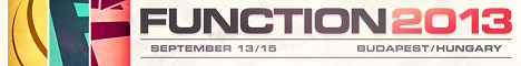 Banner: Function 2013